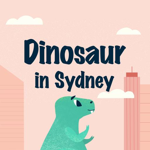 Dinosaur in Sydney