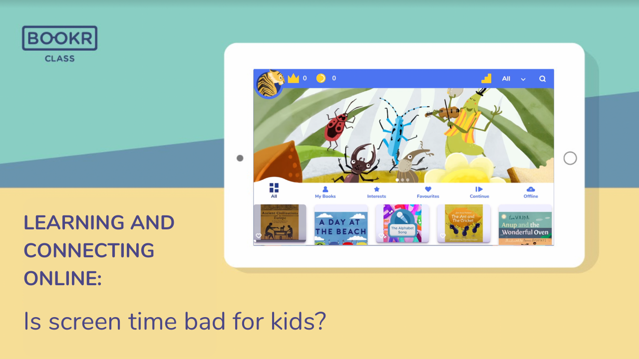 is screen time bad for kids