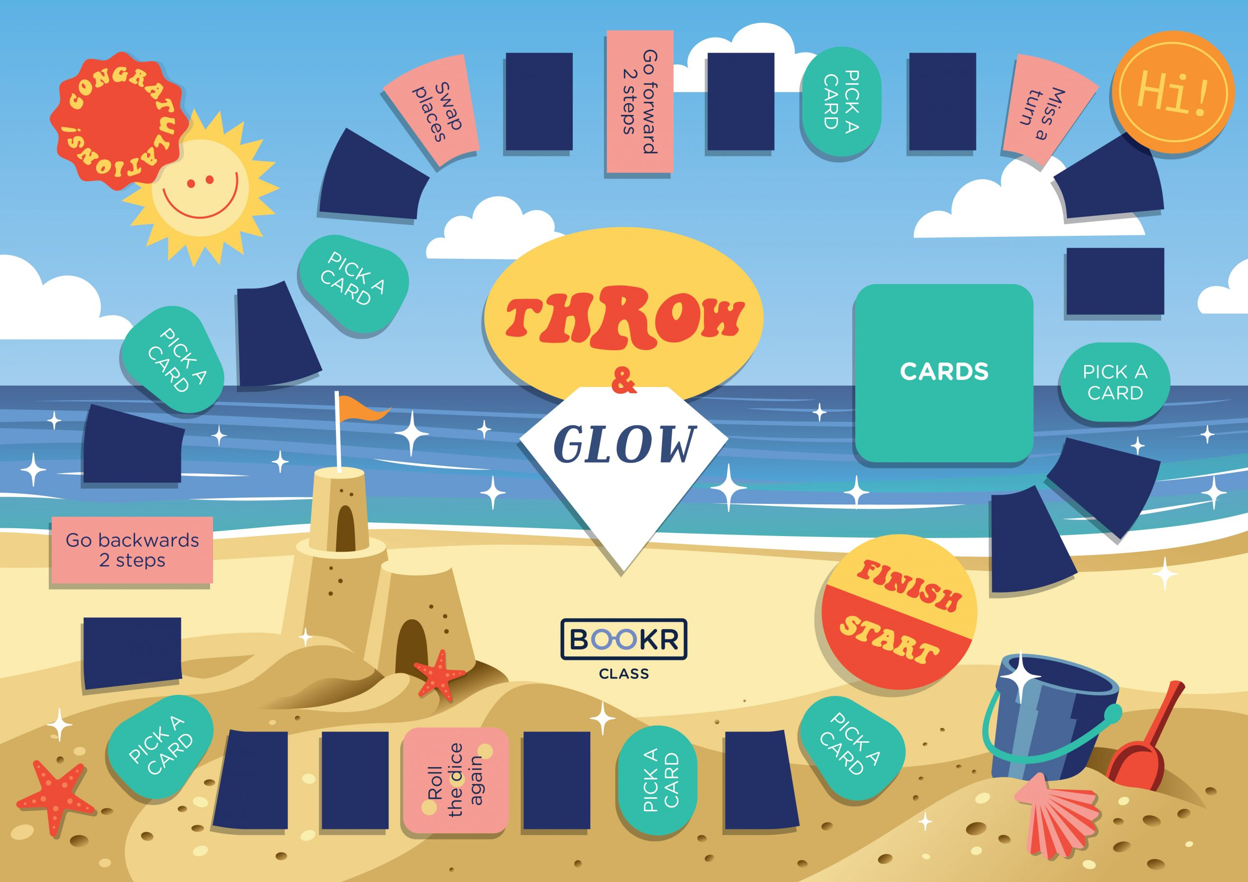 throw and glow summer edition