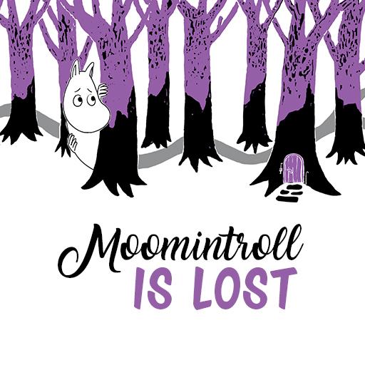 Moomintroll is lost