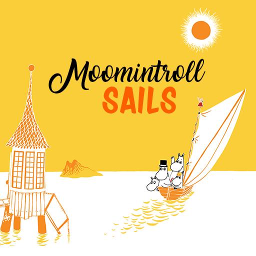 Moomintroll sails